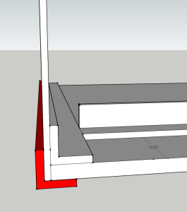 This exterior angle helps add stability and makes the glue-up look nicer.