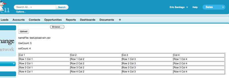 Upload and Parse CSV via VisualForce – Eric Santiago