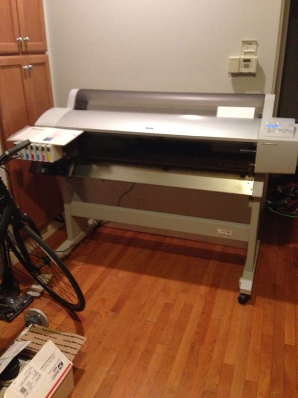 Resurrecting an Epson Stylus Pro 9600 large format printer – Eric
