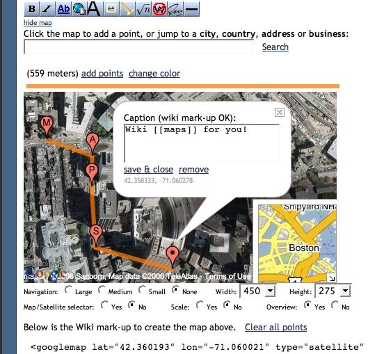Google Maps for MediaWiki – Eric Santiago